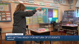 Milwaukee teachers, staff prepare for return to in-person learning