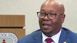 Palm Beach County superintendent interview
