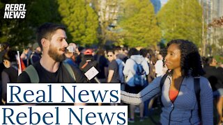Interview with Rebel News
