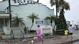 Tropical Storm Eta Hits Florida For Second Time
