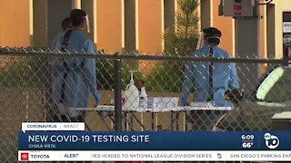 New COVID-19 testing site opens in Chula Vista