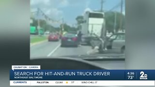 Police search for hit-and-run suspect
