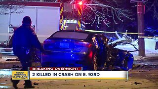 2 dead, multiple people injured in multi-car crash in Cleveland