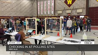 Lines get longer at one West Allis polling location