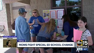 East Valley parents fighting school change for special education students
