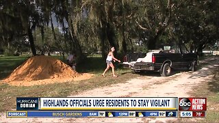 Highlands officials urge residents to stay vigilant
