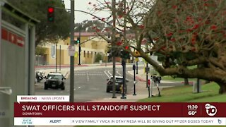 SWAT officers shoot, kill suspect in San Diego High standoff