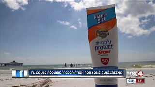 Florida could require prescription for some sunscreens