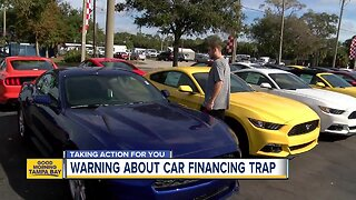 Consumer warning for car buyers about financing trap
