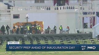 Inauguration prep underway