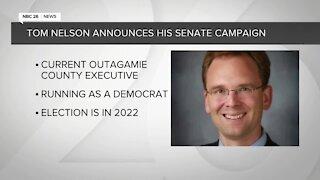 Tom Nelson announces his Senate campaign