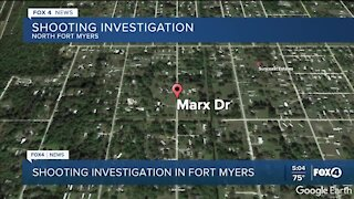 Shooting investigation in North Fort Myers