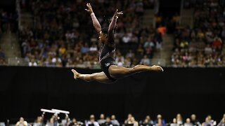 Simone Biles Becomes First Woman To Land Triple-Double In Competition