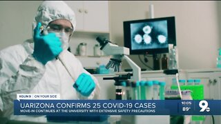UArizona confirms 25 coronavirus cases