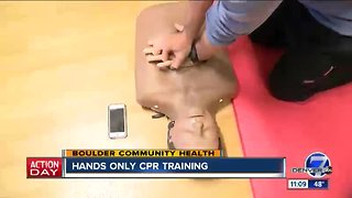 Hands Only CPR Training - Boulder Community Health