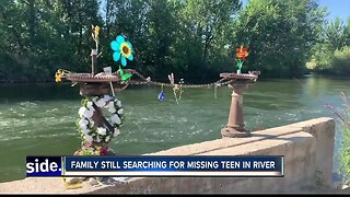 Family still searching for missing teen in Boise River