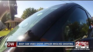 Body cam video shows Tahlequah officer involved shooting