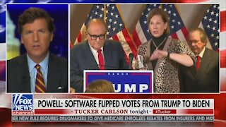 Tucker Addresses Audience After Uproar Over His Sidney Powell Rant