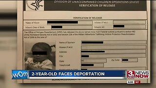 2-year-old faces deportation