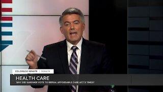 Debate: Gardner on health care