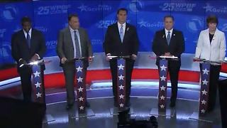 Democratic governor candidates try to differentiate themselves during debate