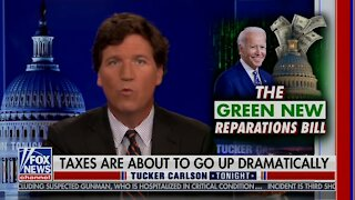Tucker Carlson DECONSTRUCTS Biden Spending Spree - Taxes Are Coming!