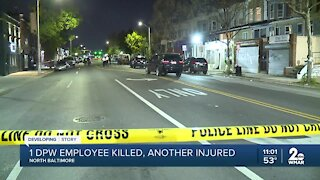 DPW employee killed another injured in York Road double shooting Friday night