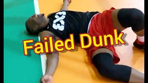 Obinna Ezeike 360 Basketball Slam Dunk Fail