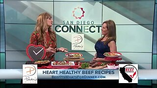 Heart Healthy California Beef Recipes by Lifestyle Expert Parker Wallace