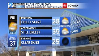A Chilly & Dry Weekend Ahead