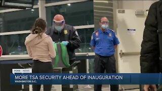 TSA on high alert before inauguration day