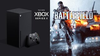 FPS BOOST xbox series x gameplay Battlefield 4 120 fps