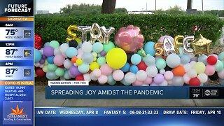 Local balloon artist spreads joy amid pandemic