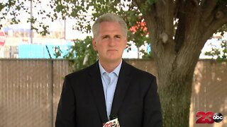 Rep. Kevin McCarthy discusses recent events