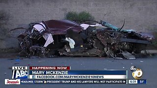 Driver dead after chase ends in crash