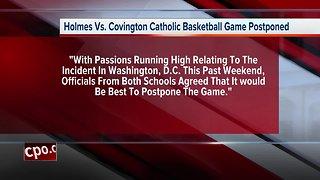 CovCath basketball game canceled