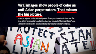 NBC Admits Black People Attacking Asians, But Says Whites To Blame