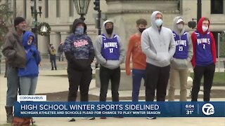 Statewide campaign urges Governor Whitmer to allow high school winter sports to start
