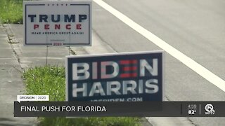 Trump, Biden make final push for Florida voters as election nears