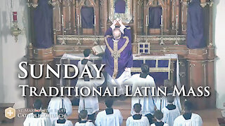 Holy Mass for Passion Sunday, March 21, 2021 (TLM)