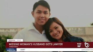 Husband of missing Chula Vista mom retains lawyer
