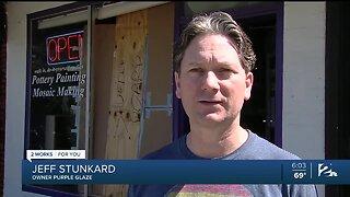 Brookside Businesses Vandalized