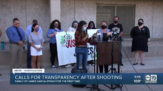 More calls for transperency from Phoenix PD after death of James Garcia