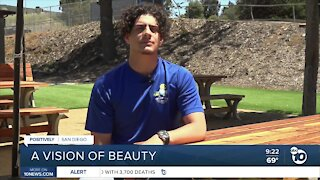 Eagle scout creates a vision of beauty