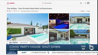'Party House' shut down