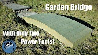 Simple Garden Bridge with Basic Tools