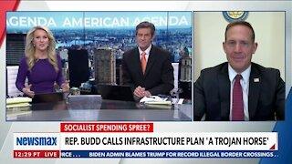 Rep. Budd Calls Infrastructure Plan 'A Trojan Horse
