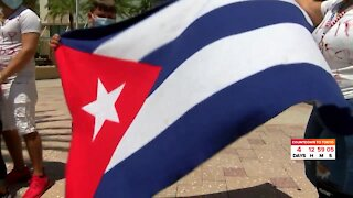 South Florida Cuban Americans continue to offer support to Cuban protests