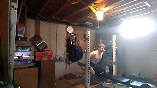 405 x 1 squat