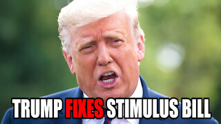 Trump FIXES Stimulus Bill with Impoundment Control Act